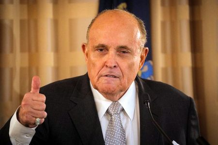 tagreuters.com2021binary_LYNXMPEH361AV-VIEWIMAGE Trump adviser Giuliani asks judge to throw out $1.3 billion lawsuit over his 'big lie' election claims U.S. [your]NEWS