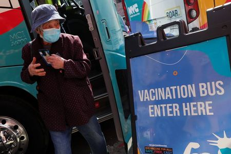 tagreuters.com2021binary_LYNXMPEH37003-VIEWIMAGE Vaccine bus rolls into New York's Sunset Park U.S. [your]NEWS