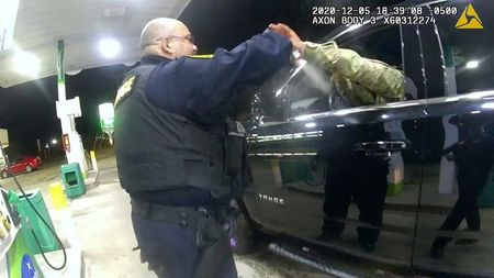 Virginia police officer accused of assaulting U.S. Army officer fired