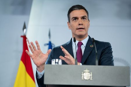 Spain's PM sees EU deal to unblock budget, recovery funds by year-end