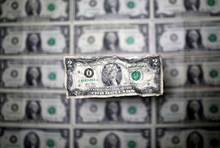 tagreuters.com2021binary_LYNXMPEH0D04E-VIEWIMAGE Dollar holds gains as markets await Biden's stimulus plan Business [your]NEWS