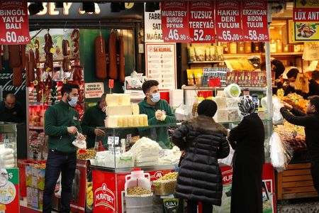 Analysis: Less for more in Turkey: costly food starves economic rebound