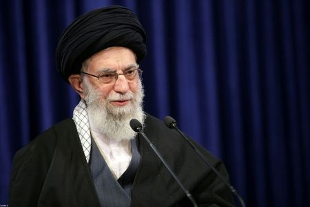 Top Iran leader posts Trump-like image with drone, vows revenge