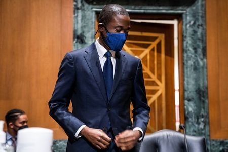 tagreuters.com2021binary_LYNXMPEH1M0ZG-VIEWIMAGE U.S. Treasury No. 2 nominee Adeyemo urges get-tough attitude on China U.S. [your]NEWS