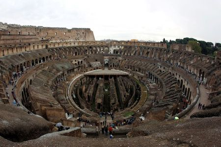 tagreuters.com2021binary_LYNXMPEH410CP-VIEWIMAGE Italy unveils new hi-tech floor design for Colosseum area Science & Technology [your]NEWS