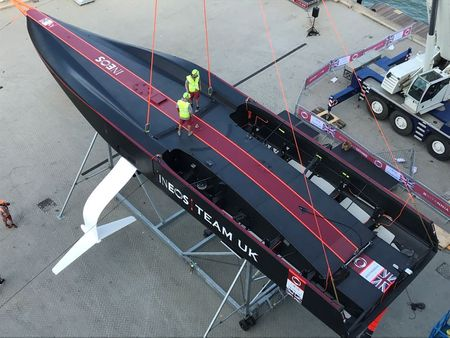 Sailing: America's Cup yachts pose new challenges for graphics crew