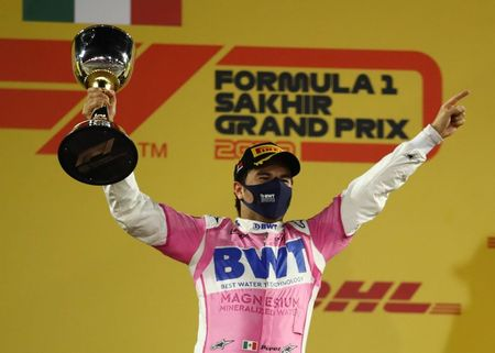 Am I dreaming? Shocked Perez is an F1 winner at last