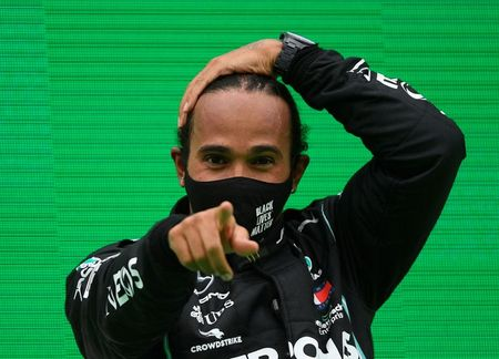 Motor racing-Hamilton to race in Abu Dhabi after negative COVID-19 tests