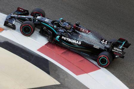 Motor racing-Hamilton still feeling effects of COVID-19