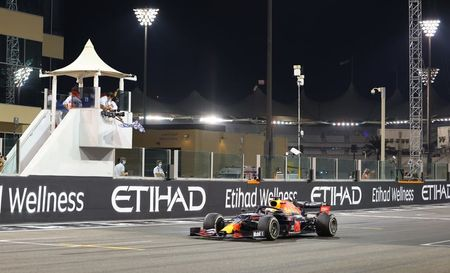 Verstappen ends F1 season with processional win in Abu Dhabi