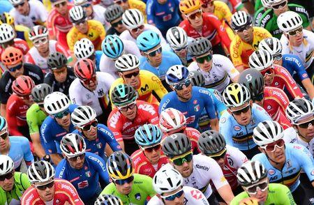 Cycling-Pogacar leads young guns' charge in pandemic-hit season