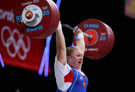 Doping-Russian former weightlifting world champion Kashirina suspended – report