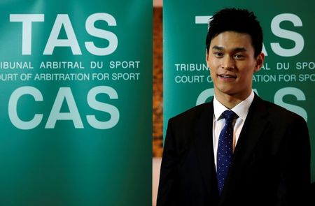 Swimming-Sun's doping ban referred back to CAS after appeal