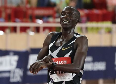 Cheptegei gunning for 5,000m-10,000m double at Tokyo Games