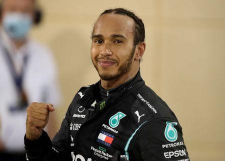 Arise Sir Lewis; F1 champion Hamilton gets his knighthood