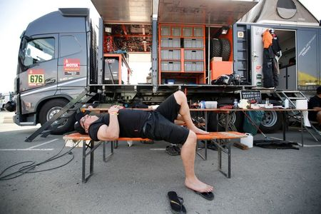 tagreuters.com2020binary_LYNXMPEGBU0LP-VIEWIMAGE Rallying-Dakar racers ready for Saudi desert after COVID quarantine Auto Racing Sports [your]NEWS