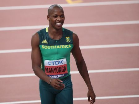Athletics-Olympic silver medallist Manyonga gets provisional suspension