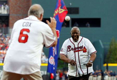 tagreuters.com2021binary_LYNXMPEH0L14R-VIEWIMAGE Baseball's 'Hammerin' Hank' Aaron, who held career home run record, dies at 86 Baseball Sports [your]NEWS