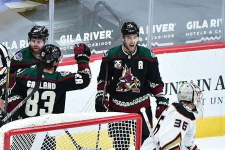 NHL roundup: Coyotes pull off another comeback vs. Ducks