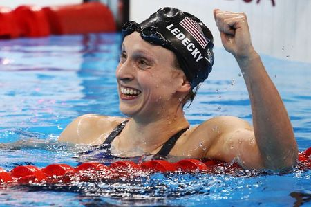 Ledecky anticipates fierce competition at Tokyo Games
