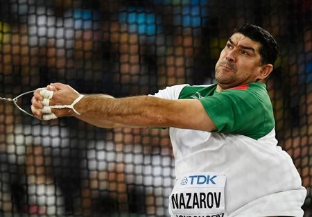 Athletics: Olympic hammer throw champion Nazarov gets two-year doping ban
