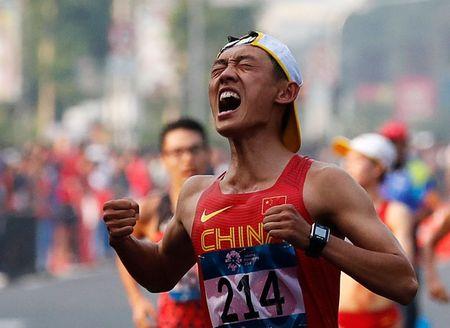 Athletics: China's Yang breaks women's 20km race walk world record