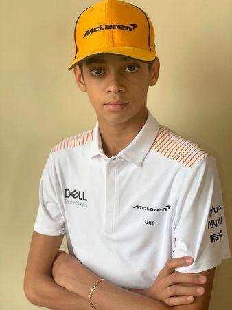 McLaren F1 sign 13-year-old American karter Ugochukwu