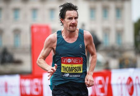 Veteran Thompson wins UK marathon trials in Kew Gardens