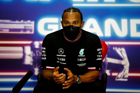 Motor racing: Hamilton's team ahead of Rosberg's in Extreme E qualifying