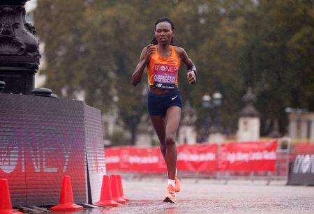 Kenya's Chepngetich smashes half marathon record in Istanbul
