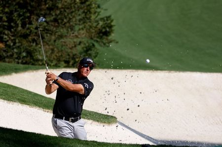 Mickelson says firm Augusta layout will command players' respect