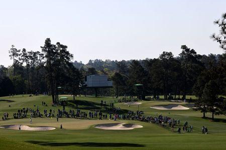 Golf-Short hitter Todd plots straight route around Augusta