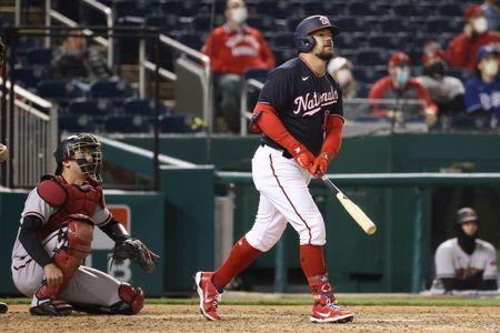 MLB roundup: Nats top D-backs 1-0 on walk-off homer