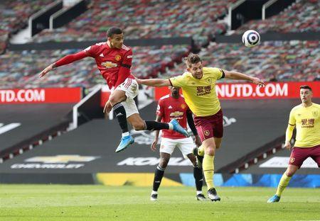 Soccer-Greenwood double helps Man United sink Burnley