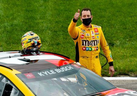 Kyle Busch wins aptly named Buschy McBusch Race 400