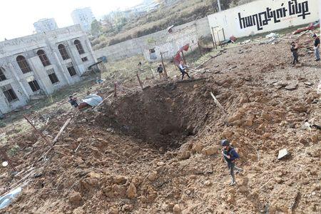 Azerbaijan, Armenia trade accusations of civilian deaths in Nagorno-Karabakh