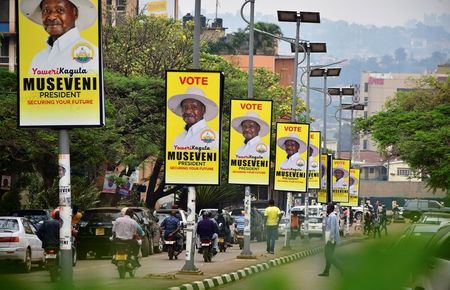 tagreuters.com2021binary_LYNXMPEH0C0ZV-VIEWIMAGE U.S. cancels its observation of Uganda's presidential election World [your]NEWS