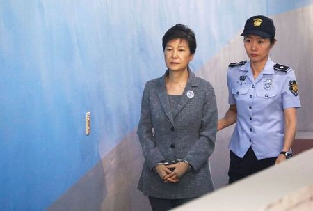 S.Korea court upholds jail for ex-president Park, clearing way for chance of a pardon