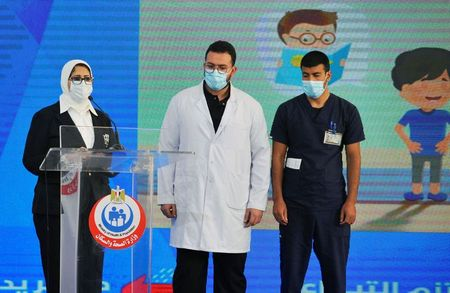 Egypt begins COVID-19 vaccination drive with frontline medical staff