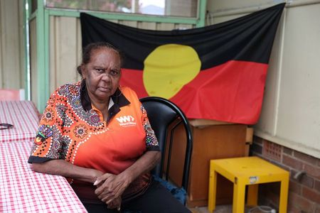 tagreuters.com2021binary_LYNXMPEH0O025-VIEWIMAGE Stolen but not silent: Indigenous Australians protest national celebrations World [your]NEWS