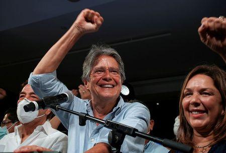Ecuador's Lasso pledges deficit cuts, new oil deals after election win