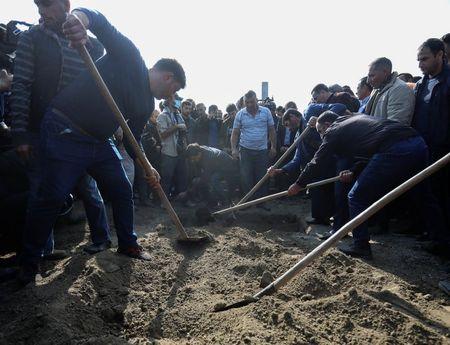 Azerbaijan says 14 people killed by shelling in Barda: RIA