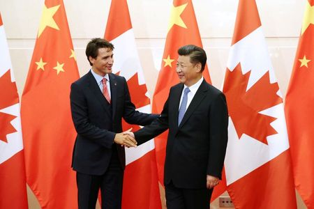 Canada's Trudeau urges unified front against China detentions, says all nations vulnerable