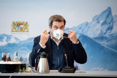 Do not break with Merkel, Bavarian leader warns before CDU leadership vote