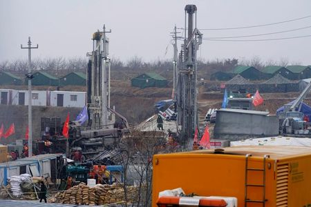 tagreuters.com2021binary_LYNXMPEH0N010-VIEWIMAGE China rescues nine miners after 14 days trapped underground: CCTV World [your]NEWS