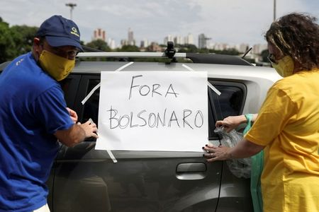 'Get out Bolsonaro!' say ex-supporters in Brazil as COVID-19, vaccines weigh