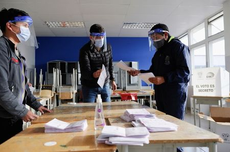 Ecuador counts votes in presidential runoff with socialism on the horizon