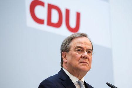 German CDU top brass back Laschet as chancellor candidate: party sources