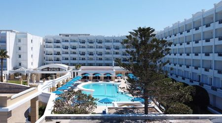 Dutch tourists trade lockdown at home for Greek resort confinement